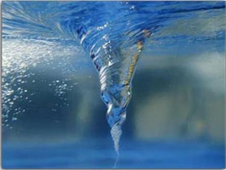Arremolinar el agua sube la alcalinidad