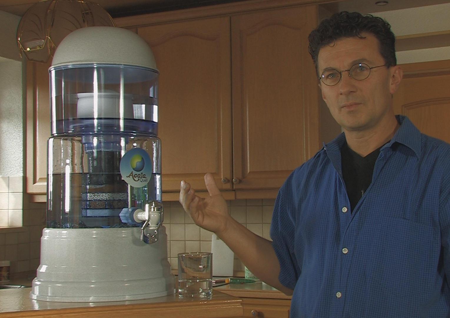 Martin Gayer constructor del Filtro ACALA