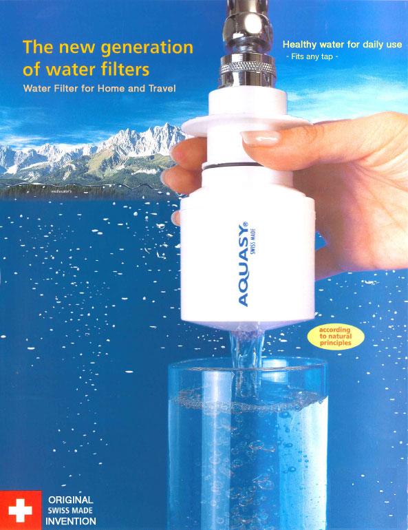 Aquasy filtro de viaje