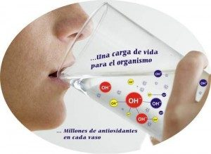 Agua hisdrogenada actúa de forma antioxidante sobre nuestro organismo