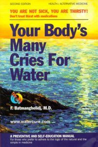 Your body`s many cries por water